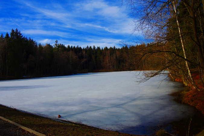 Bergrat-Müller-Teich Harzer Wandernadel Nr. 190