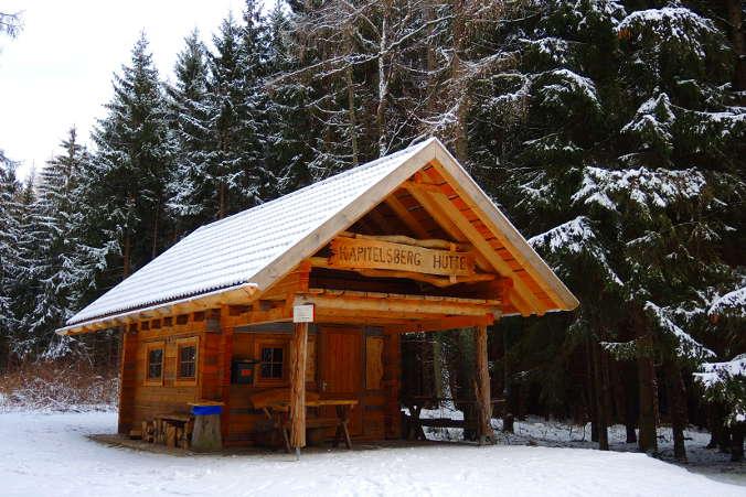 Kapitelsberg Hütte Harzer Wandernadel Nr. 44