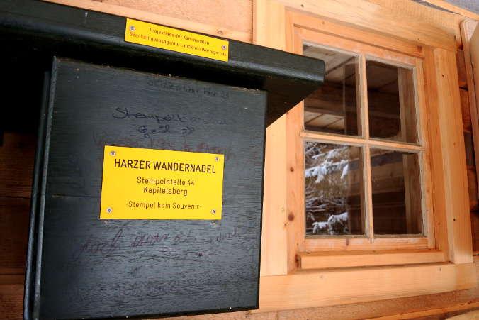 Kapitelsberg Harzer Wandernadel Nr. 44 Stempelkasten