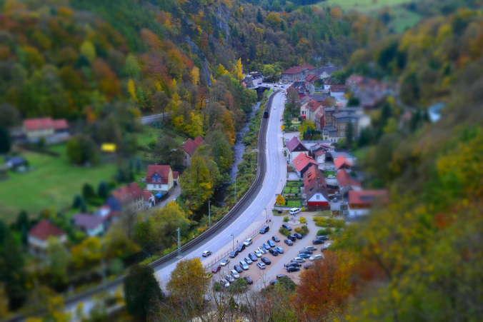 Schornsteinberg Rübeland Harzer Wandernadel Nummer 89