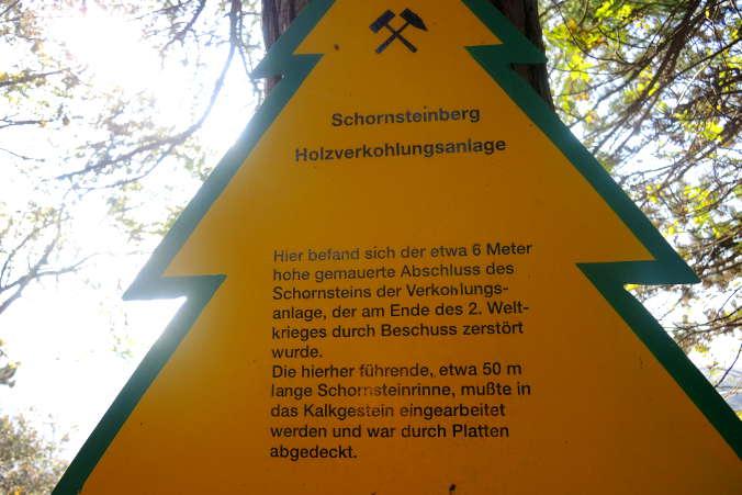 Schornsteinberg Rübeland Holzverkohlung