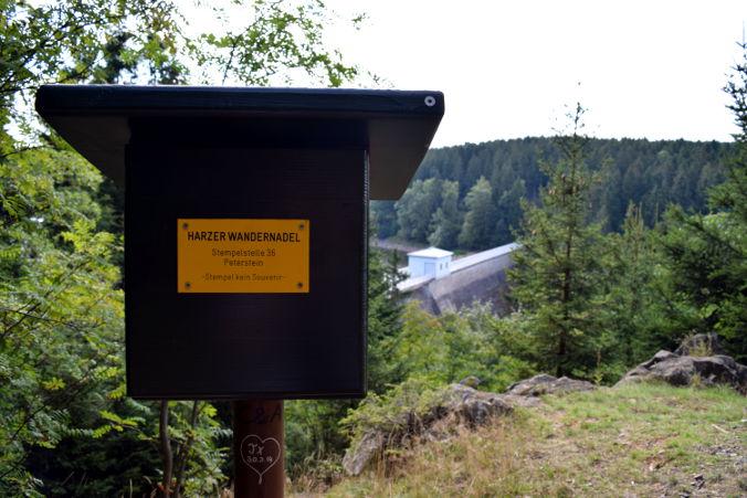 Peterstein Harzer Wandernadel Nr. 36