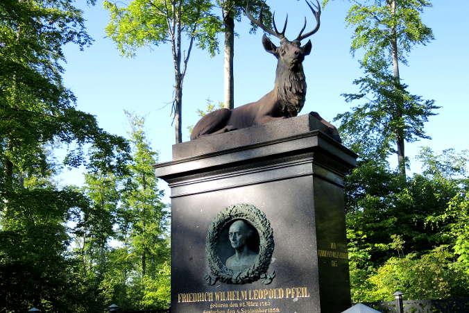 Pfeil Denkmal Harzer Wandernadel Nr. 68