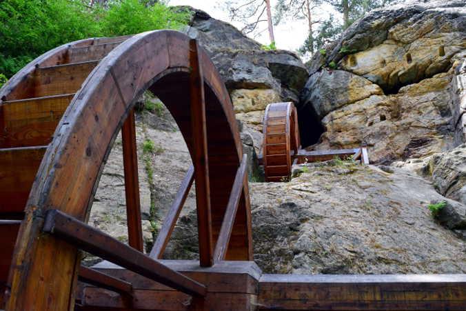 Regenstein-Mühle Harzer Wandernadel 82