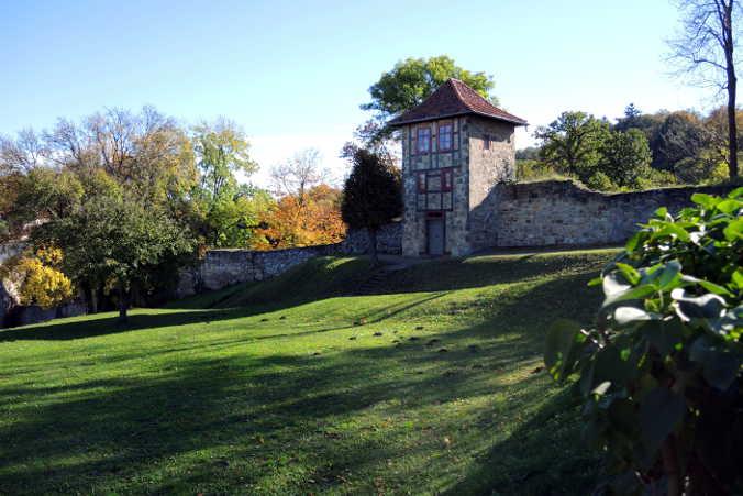Barocke Gärten Harzer Wandernadel 78