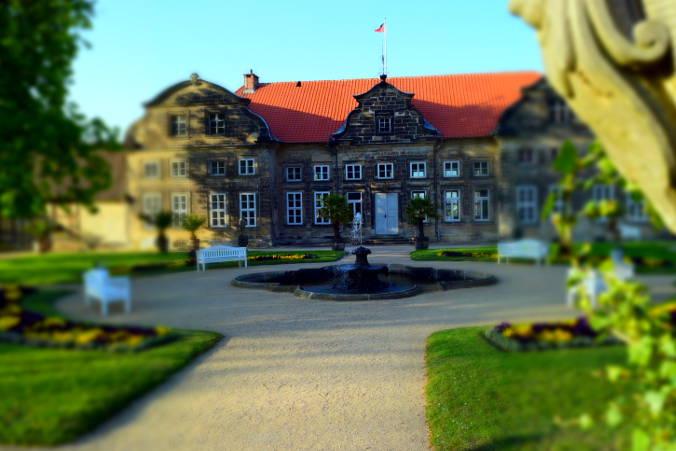 Kleines Schloss Blankenburg Barocke Gärten Harzer Wandernadel 78