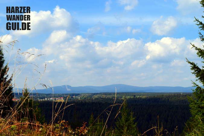 Oberharzblick am Buchenberg Stempelstelle Harzer Wandernadel 47
