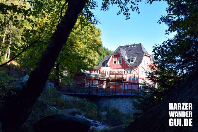Gasthaus Steinerne Renne Harzer Wandernadel Stempelstelle 28