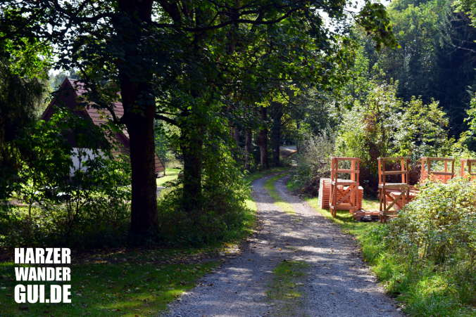 Grüntal Harzer Wandernadel Stempelstelle 49