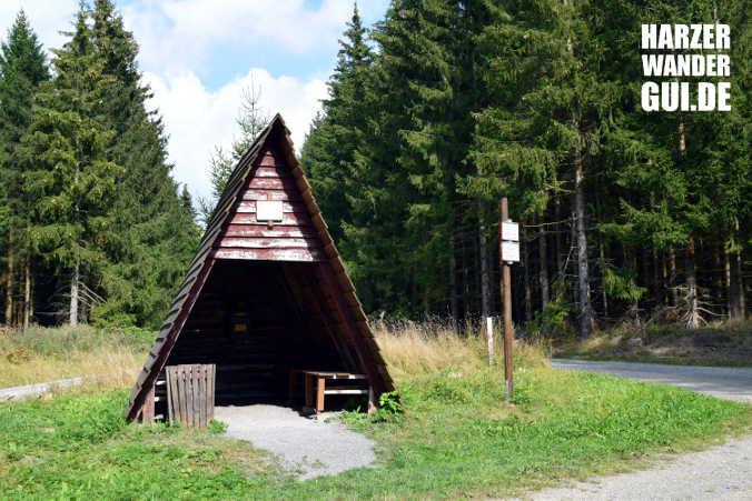 Walzenhütte Stempelstelle Harzer Wandernadel 50