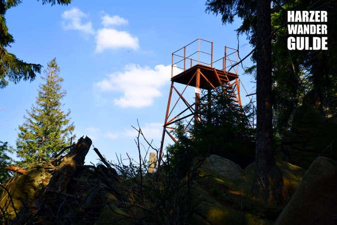 Wolfsklippen Stempelstelle Harzer Wandernadel 24