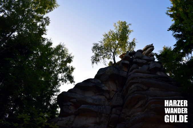 Schnarcherklippen Harzer Wandernadel Stempelstelle 14