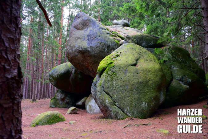 Froschfelsen Stempelstelle Harzer Wandernadel 5