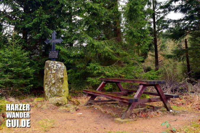 Am Kruzifix Stempelstelle Harzer Wandernadel 3