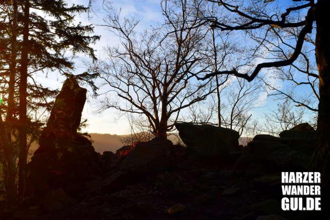 Paternosterklippe Harzklippe bei Ilsenburg