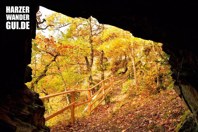 Pioniertunnel Harz zwischen Alexisbad und Mägdesprung