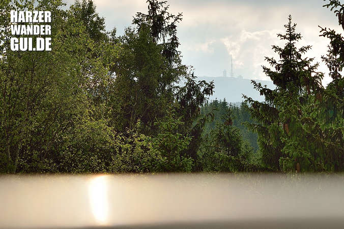 Sicht auf Brocken vom Ottofels