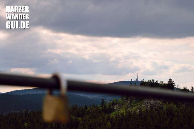 Hohnekamm Leistenklippe: Sicht auf den Brocken