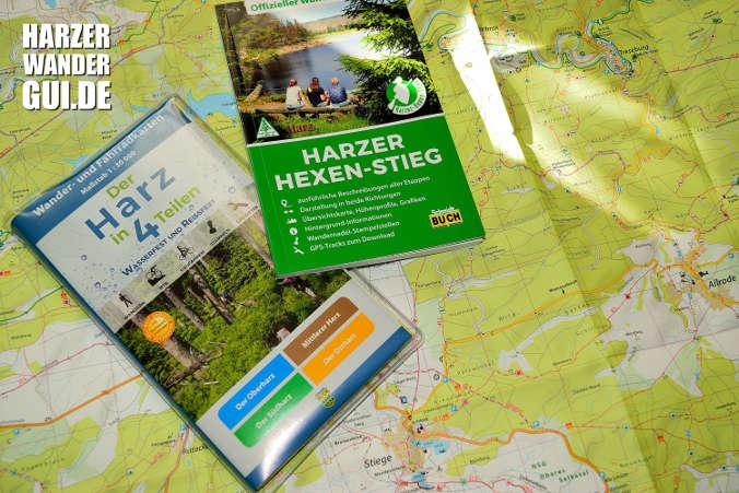 "To-do-Liste 2018: Test Schmidt Wanderkarten ""Der Harz in 4 Teilen"""