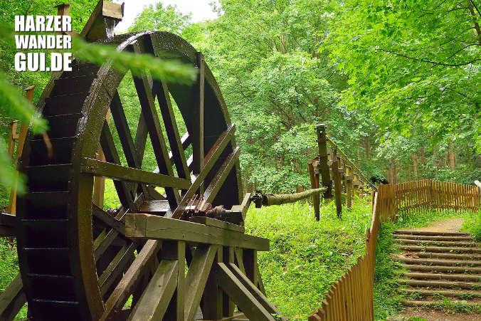 Wasserkunst Thumkuhlental Harzer Wandernadel Stempelstelle 085