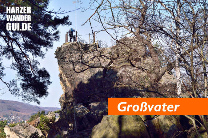 Harzer Teufelsmauer Großvater