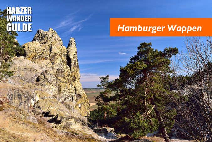Teufelsmauer Hamburger Wappen / Drei Zinnen