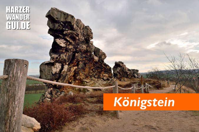 Teufelsmauer Weddersleben Königstein