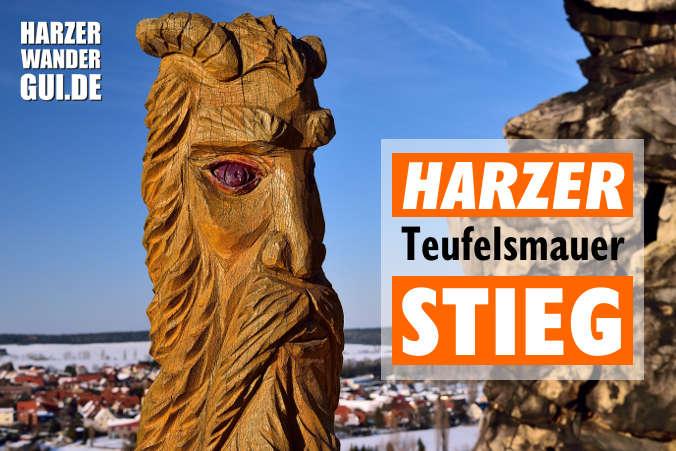 Harzer Teufelsmauerstieg - Auf des Teufels Spuren