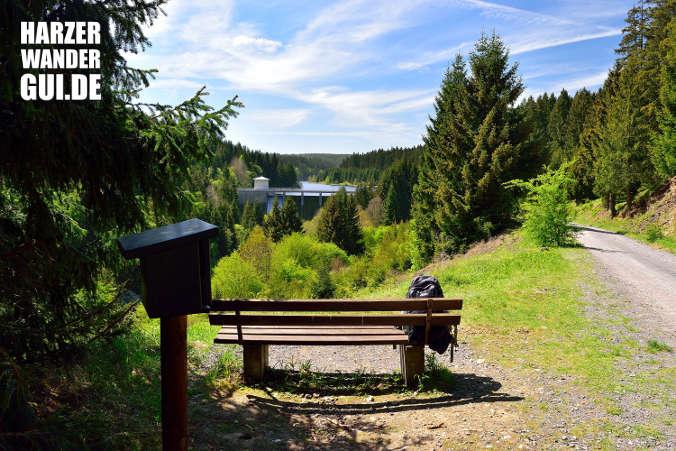 Rappbodeblick Trautenstein Harzer Wandernadel Stempelstelle 56