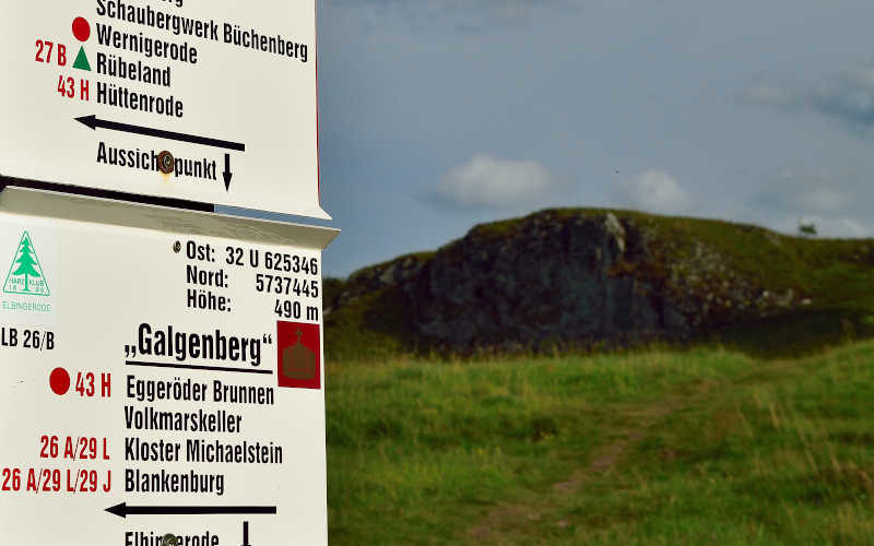 Galgenberg Elbingerode - Stempelstelle 38