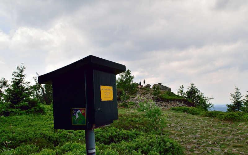 Wolfswarte - Harzer Wandernadel 135