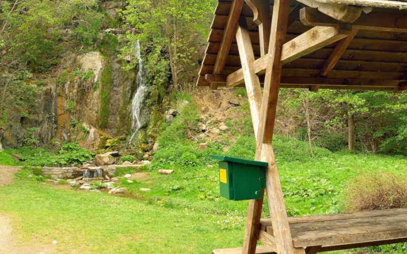 Königshütter Wasserfall – Stempelstelle 40