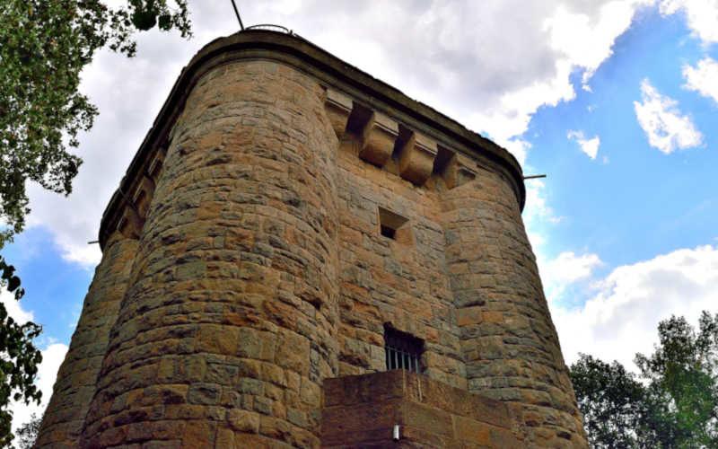 Bismarckturm Ballenstedt - Stempelstelle 199