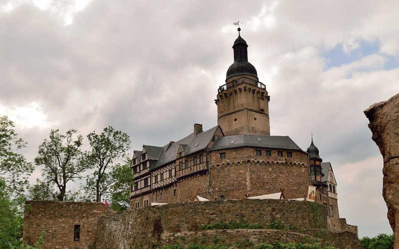 Burg Falkenstein - Stempelstelle 200