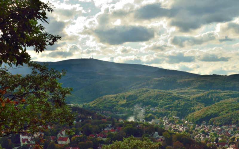Brockenblick vom Agnesberg - Stempelstelle 31