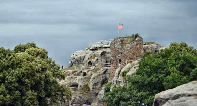 Burgruine Regenstein - Stempelstelle 80